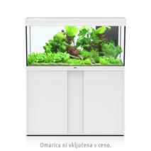 Akvarij Aquatlantis Elegance Expert LED 120 (293 L), bel - 121 x 40,4 x 60 cm