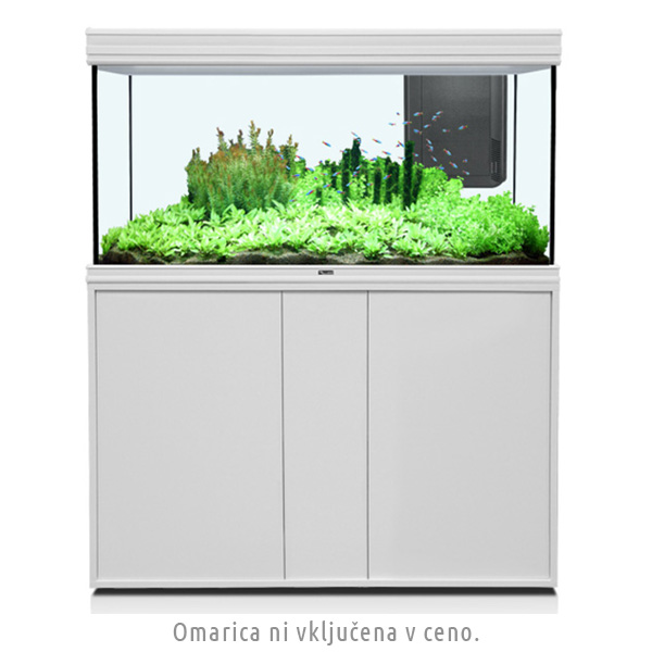 Akvarij Aquatlantis Fusion LED 120 (420 L), bel - 120 x 50 x 70 cm