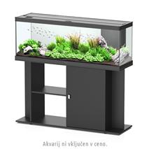 Aquatlantis omarica za akvarij Style 120, črna