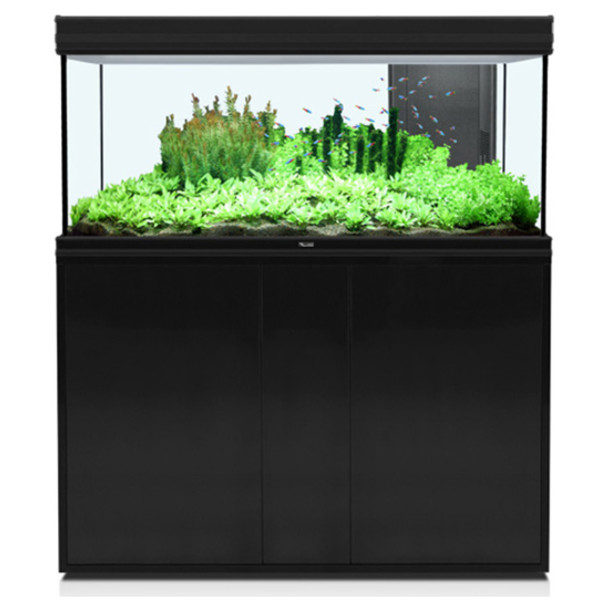 Aquatlantis omarica za akvarij Fusion 120, črna