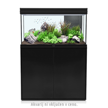 Aquatlantis omarica za akvarij Fusion 100, črna