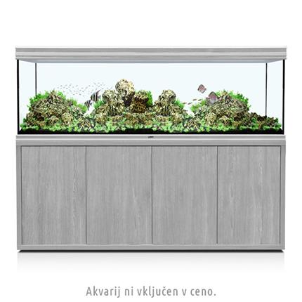 Aquatlantis omarica za akvarij Fusion 200, beljen hrast