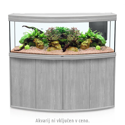 Aquatlantis omarica za akvarij Fusion Horizon 150, beljen hrast