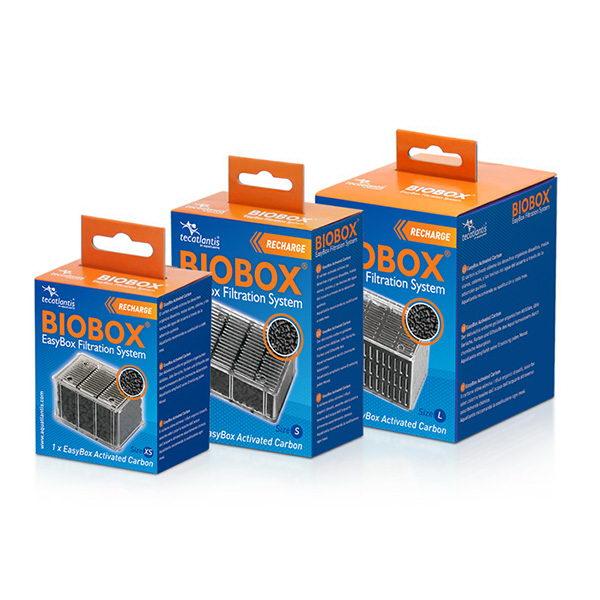 Aquatlantis vložek BioBox, aktivno oglje - XS