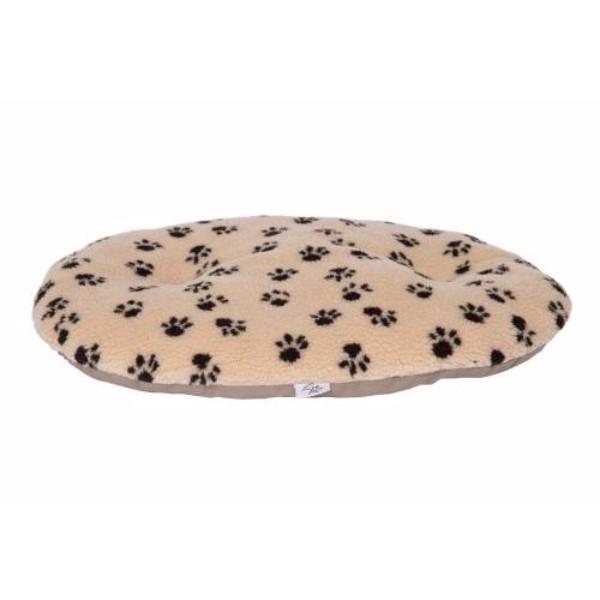 Leopet ovalna blazina Nettuno, bež s tačkami 80 x 54 cm