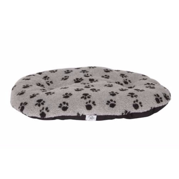 Leopet ovalna blazina Nettuno, siva s tačkami 65 x 45 cm