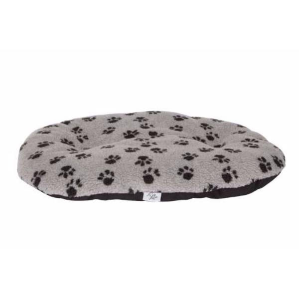 Leopet ovalna blazina Nettuno, siva s tačkami 80 x 54 cm