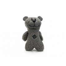 Beeztees plišasti medvedek Boris, siv - 23 cm