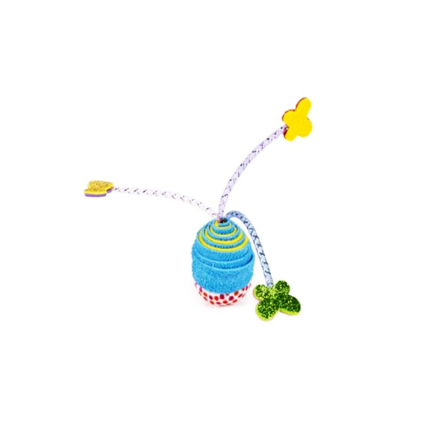 Beeztees igrača za mačke Wobbler z rožami - 8 cm