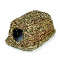 Beeztees hišica za glodavce iz trstičja - 28 x 18 x 13 cm