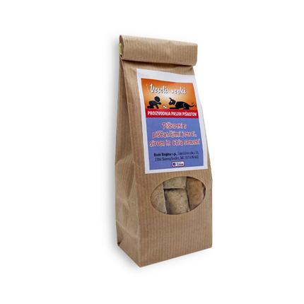 Veseli repki domači piškoti z jetri, sirom in chia semeni - 80 g