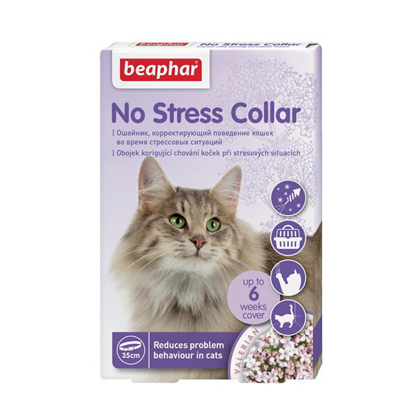 Beaphar No Stress mačja ovratnica za lajšanje stresa - 35 cm