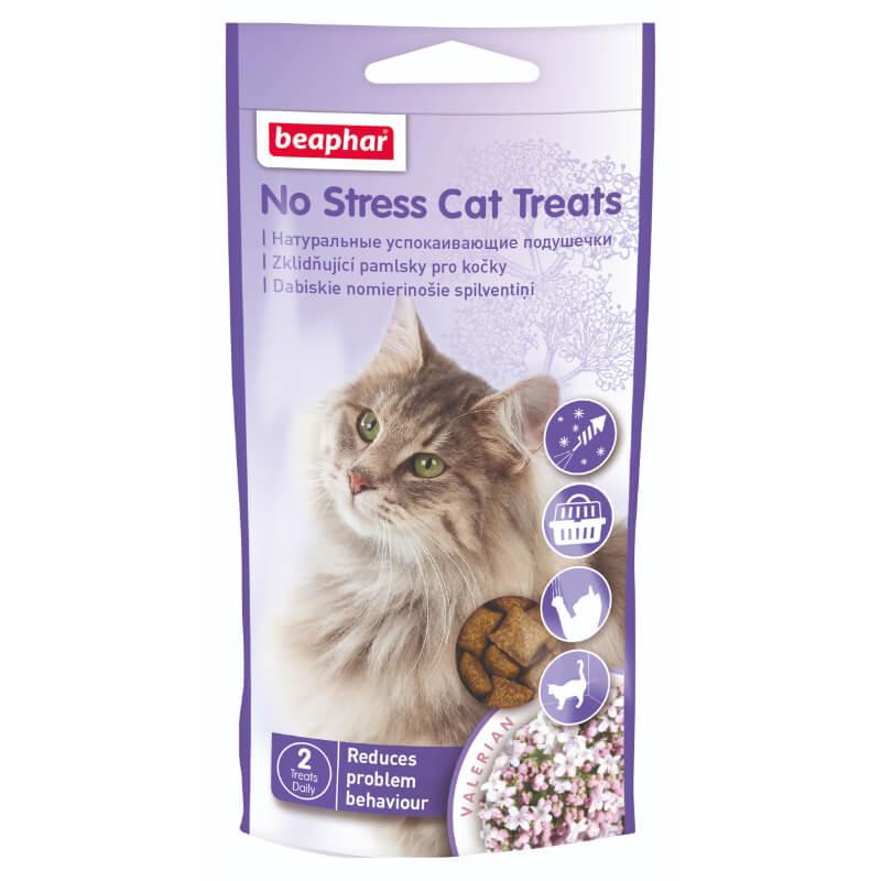Beaphar No Stress priboljšek za lajšanje stresa mačk - 35 g