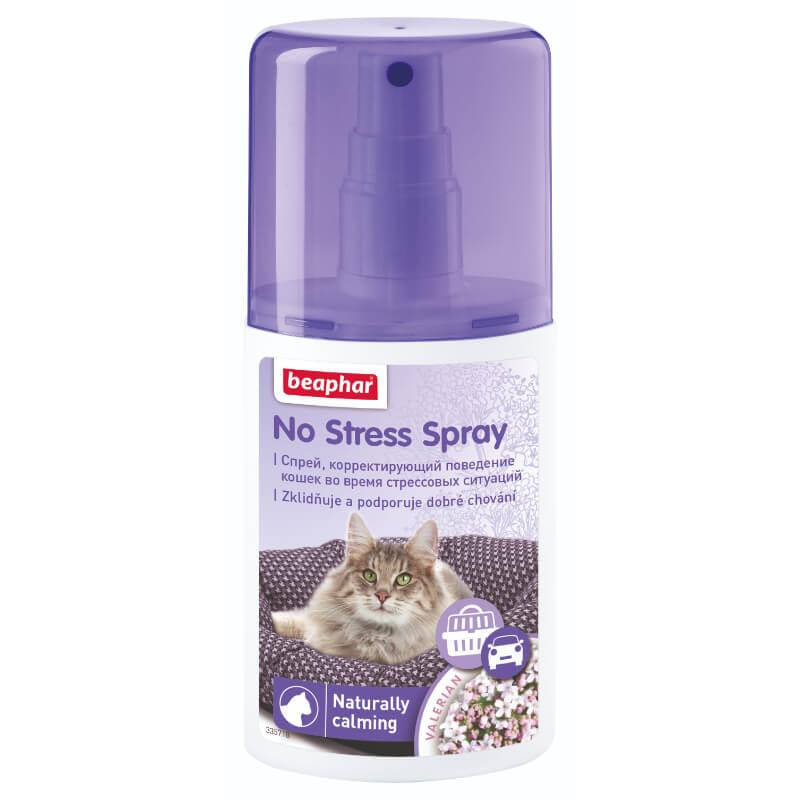 Beaphar No Stress razpršilo za lajšanje stresa mačk - 125 ml