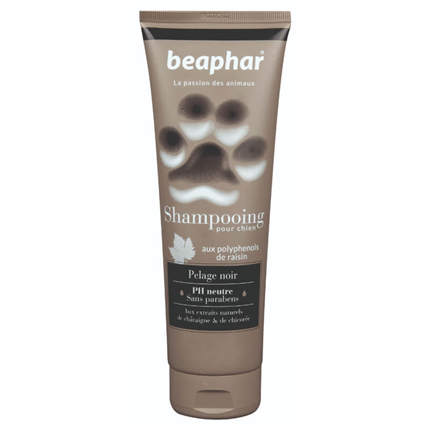 Beaphar šampon v tubi za črno dlako - 250 ml