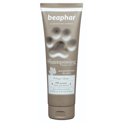 Beaphar šampon v tubi za belo dlako - 250 ml