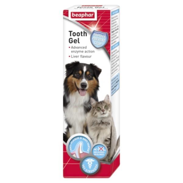 Beaphar gel za čiščenje zob - 100 g