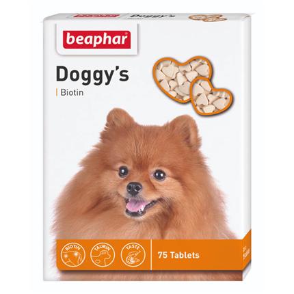 Beaphar Doggy's posladek z biotinom - 75 tablet