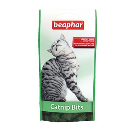 Beaphar Malt Bits posladek z mačjo meto za mačke - 35 g
