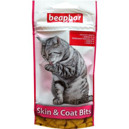 Beaphar posladek Skin & Coat Bits, za kožo in dlako - 35 g
