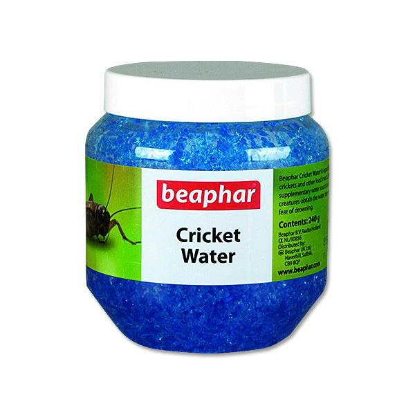 Beaphar Cricket Water, voda za čričke v gelu - 240 g
