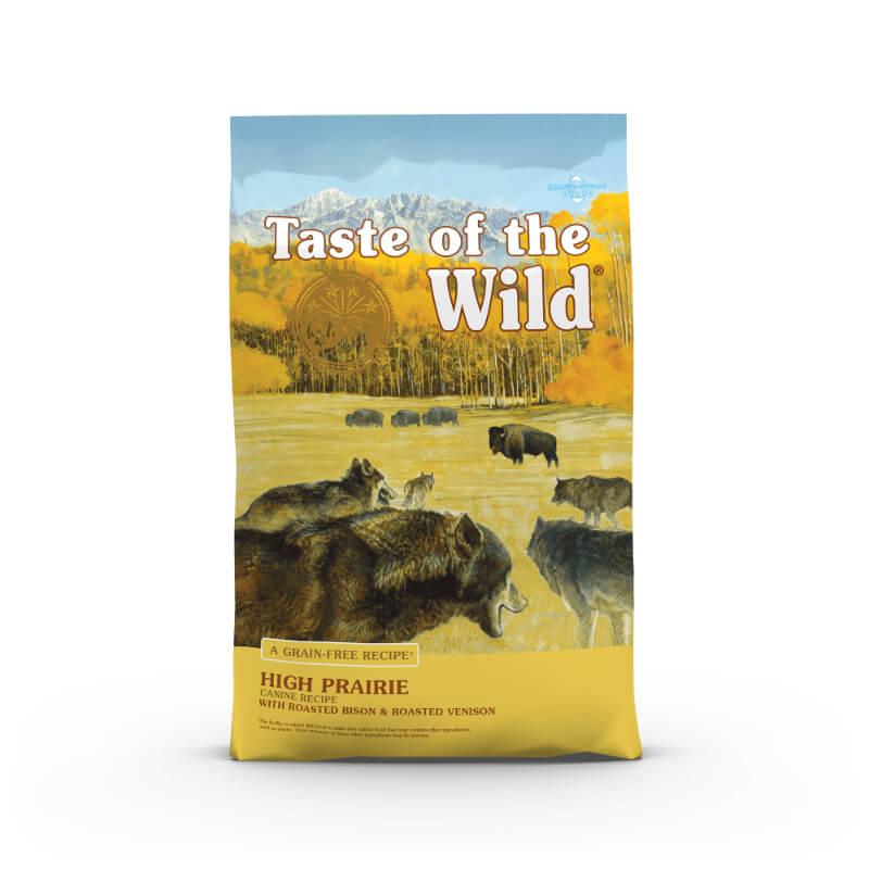 Taste Of The Wild High Prairie – pečeni bizon in divjačina