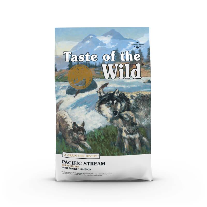 Taste Of The Wild Pacific Stream, Puppy – prekajeni losos