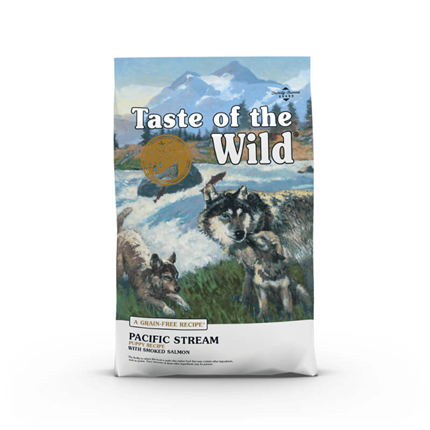 Taste Of The Wild Pacific Stream, Puppy – prekajeni losos