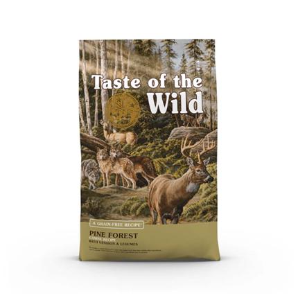 Taste Of The Wild Pine Forest – divjačina in jagnjetina