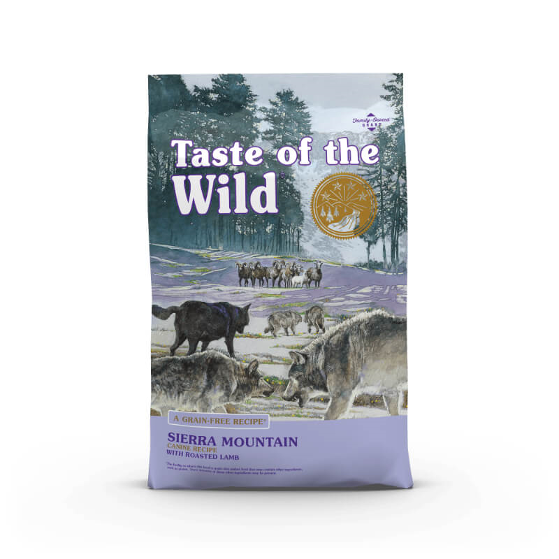 Taste Of The Wild Sierra Mountain – pečena jagnjetina