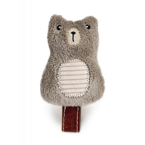 Beeztees igrača pliš medved Borro - 7,5 cm