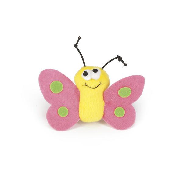Beeztees igrača metulj Finky - 6 cm
