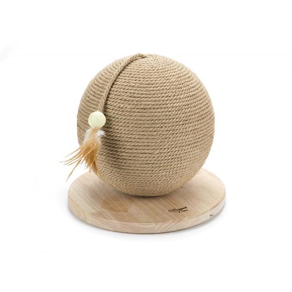 Beeztees praskalnik krogla Balty, les - 30 x 30 x 27 cm