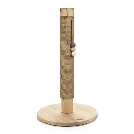Beeztees praskalnik steber Sinora, les - 40 x 40 x 70 cm