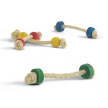 Beeztees igrača za glodavce vrv in les - 16 cm (4 kos)