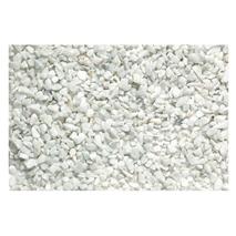 Beeztees akvarijski pesek Carrara, bel - 6-8 mm / 1 kg