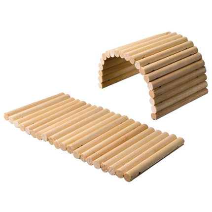Small Animals skrivališče most lesene palčke - 20 x 15 cm