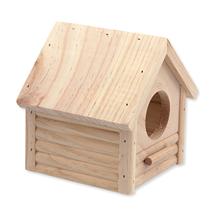 Small Animals hišica les - 12 x 12 x 13,5 cm