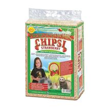 Chipsi Strawberry stelja z vonjem jagode - 60 l