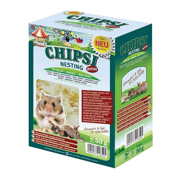 Chipsi Nesting Active gnezdilni material - 50 g