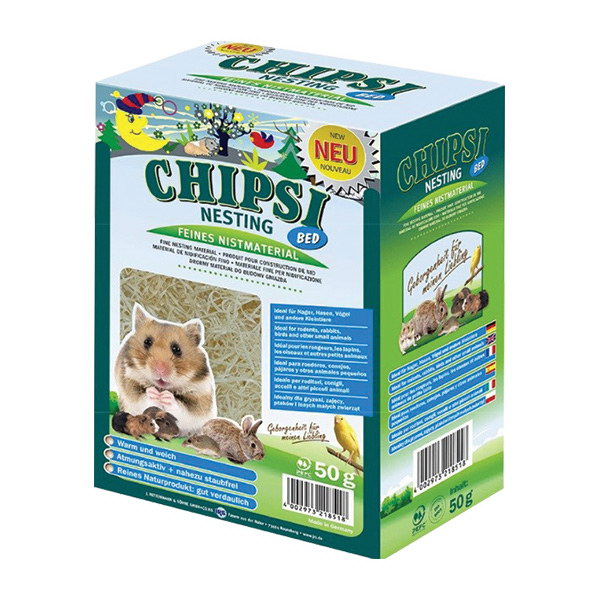 Chipsi Nesting Bed gnezdilni material - 50 g