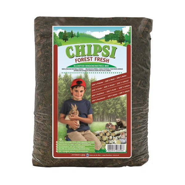 Chipsi Forest Fresh stelja iz lubja - 30 l
