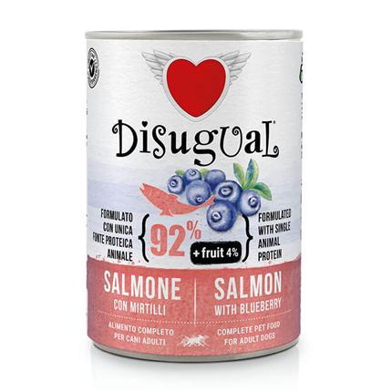 Disugual Fruit - losos in borovnica - 400 g