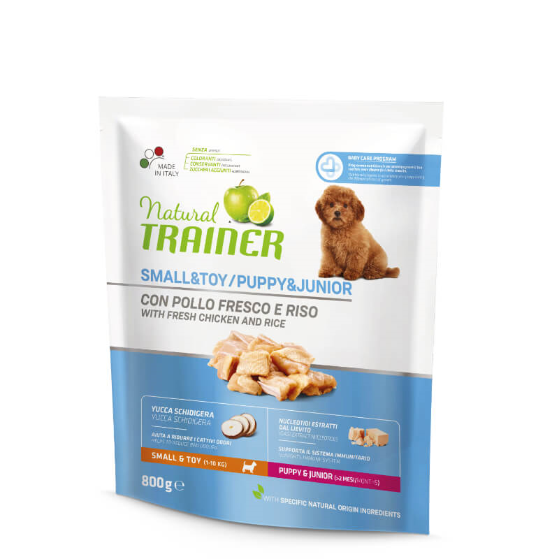 Trainer Natural Puppy&Junior Small - sveži piščanec 800g