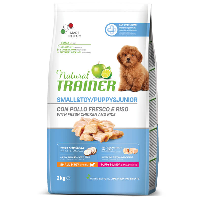 Trainer Natural Puppy&Junior Small - sveži piščanec 2 kg
