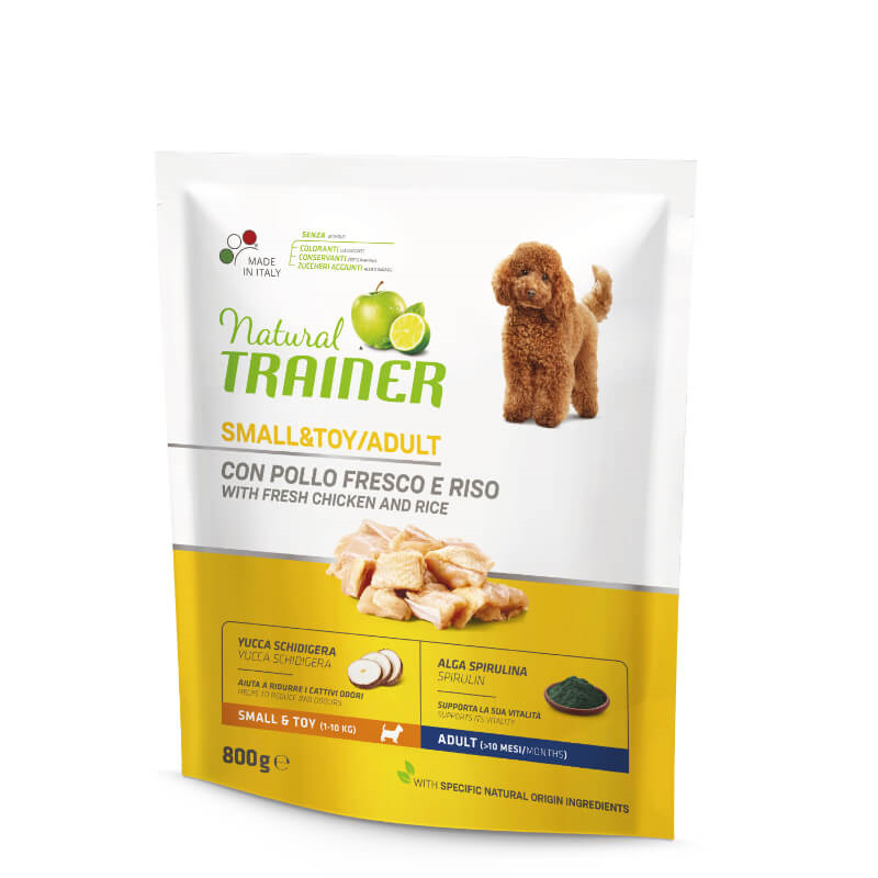 Trainer Natural Adult Small - sveži piščanec 800g