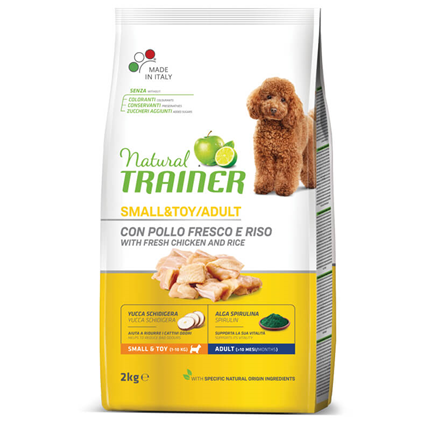 Trainer Natural Adult Small - sveži piščanec - 2 kg