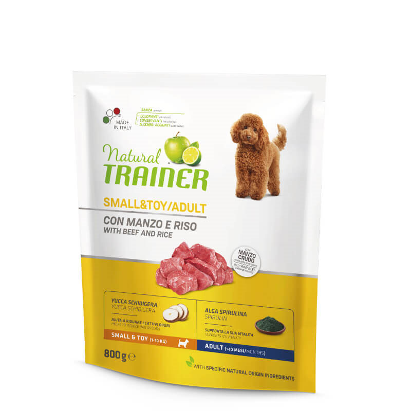 Trainer Natural Adult Small - govedina in riž 800g