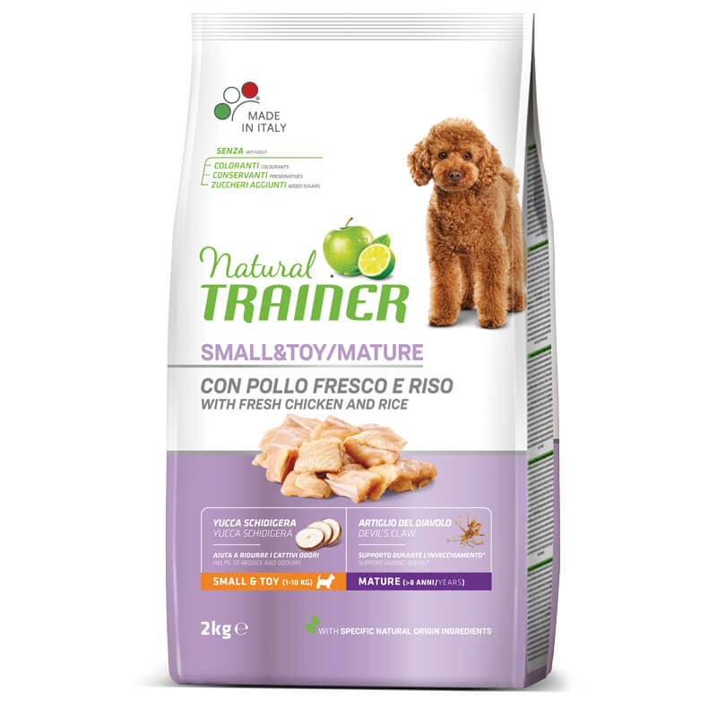 Trainer Natural Senior Small - sveži piščanec 2 kg