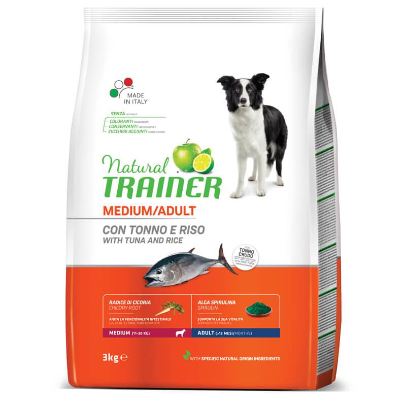 Trainer Natural Adult Medium - riba in riž 3 kg
